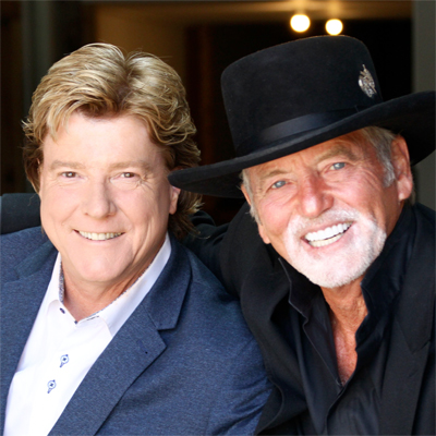 Andy Cooney and Larry Gatlin